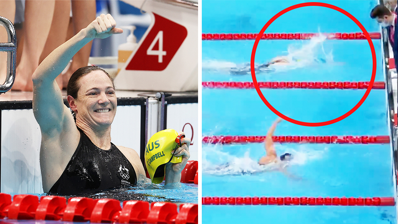 'Straight up cheated': America rages at Aussie swimming triumph