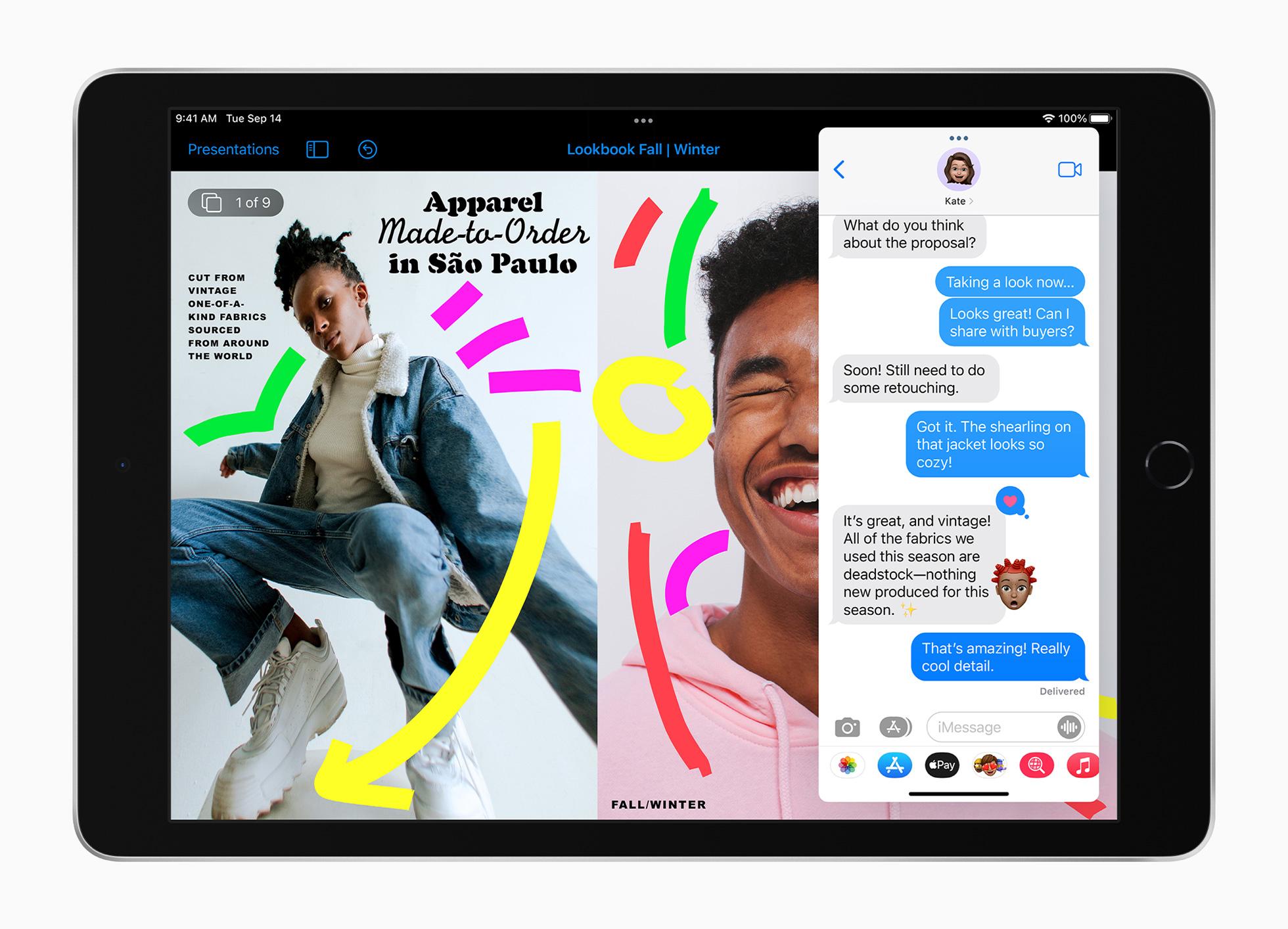 <p>Apple's new 10.2-inch iPad</p>