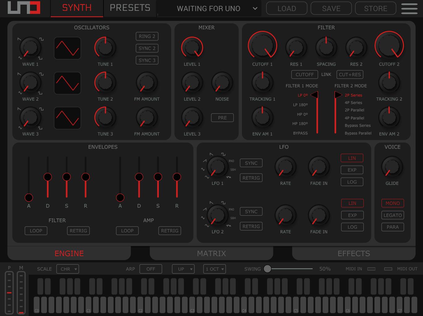 Uno Synth Pro Desktop Editor