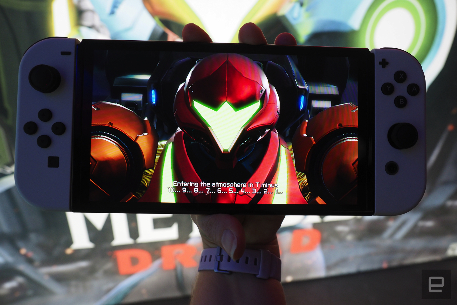 The Switch OLED is a strong contender for most gorgeous handheld ever | Engadget