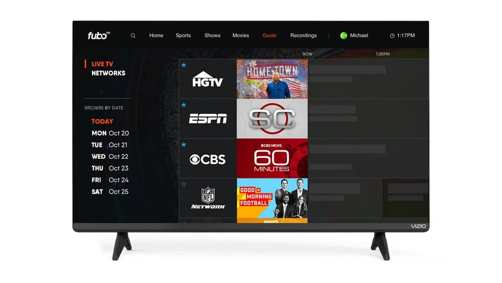 FuboTV akış uygulaması Vizio SmartCast'ta | Engadget