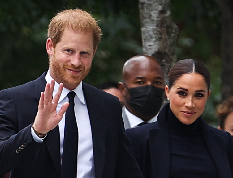 Harry and Meghan make first joint public appearance since Lilibet's birth