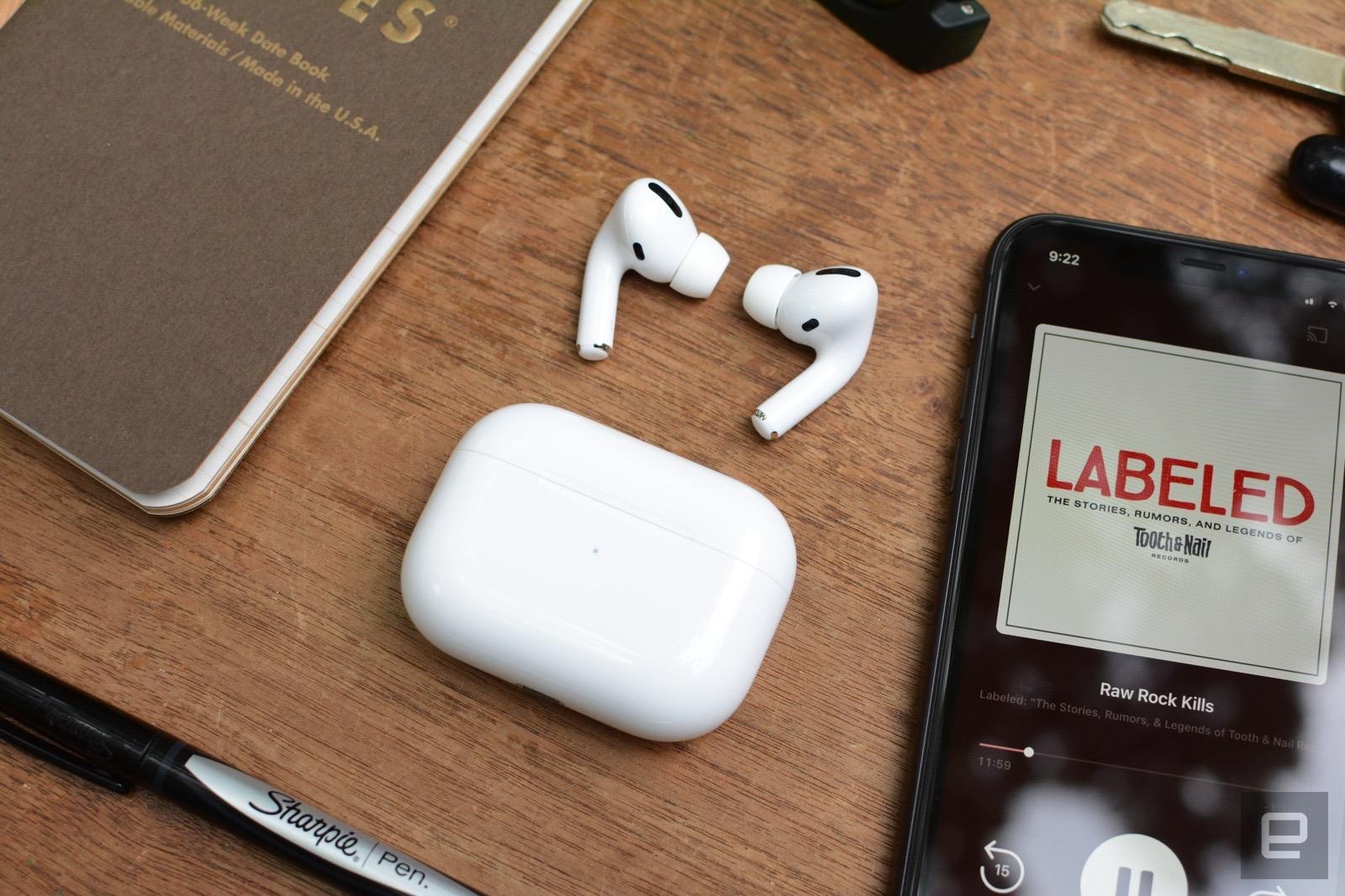 Apple'ın AirPods Pro'su yeniden 180$'a satışta | Engadget