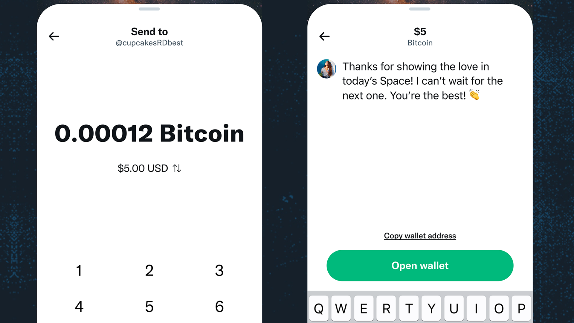 Twitter will let users send and receive Bitcoin tips