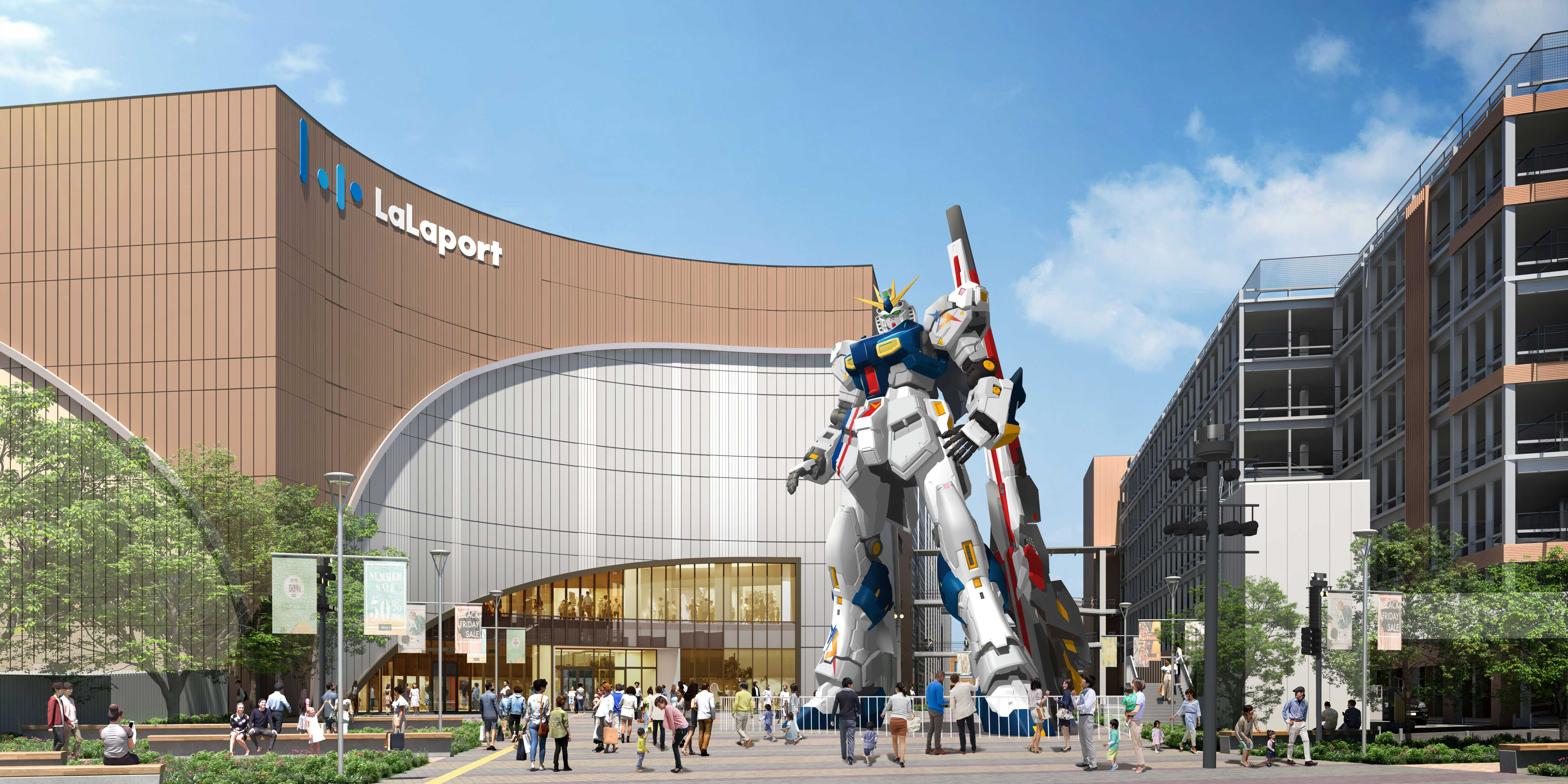 Gundam Lalaport Fukuoka