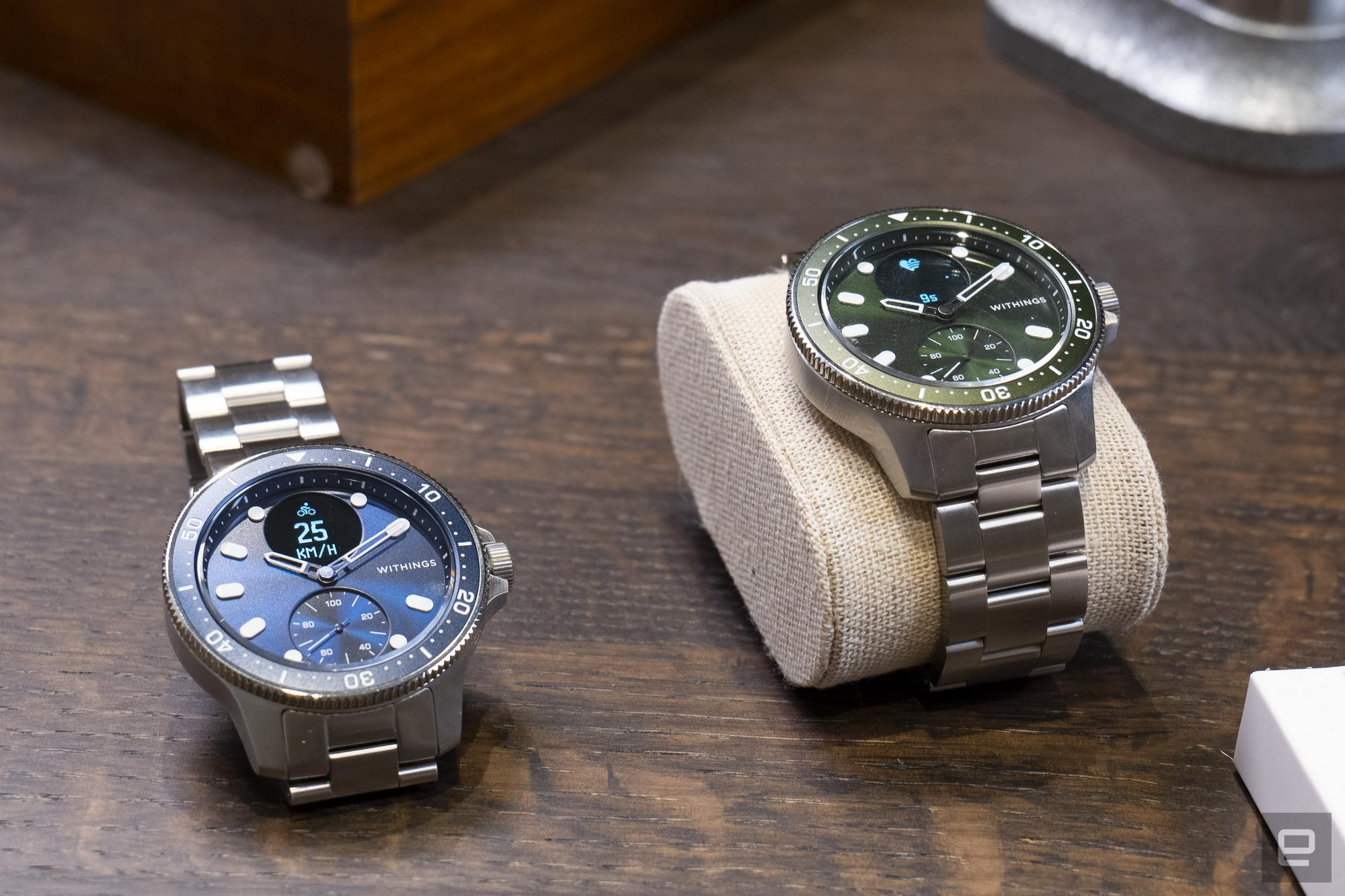 <p>Images of the Withings ScanWatch Horizon taken at the device's launch event in Paris.</p>