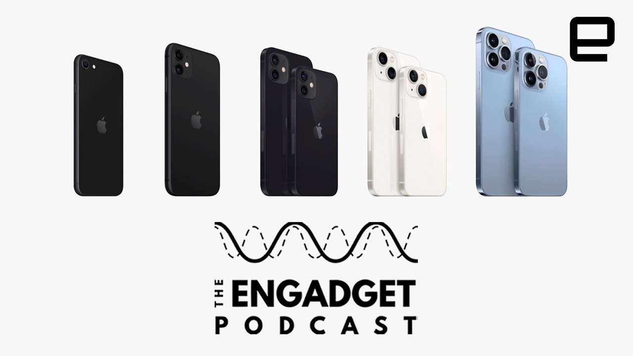 Engadget Podcast: iPhone 13 and why we're more excited for the new iPad Mini