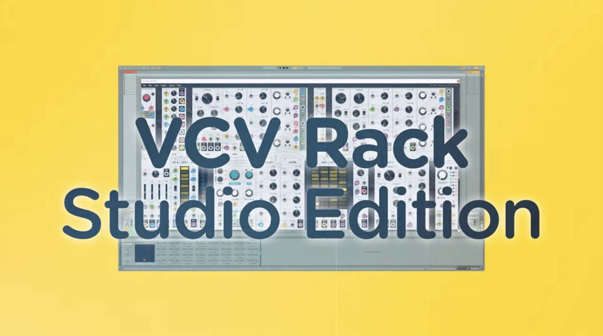 VCV will bring its virtual Eurorack synth to your DAW this November