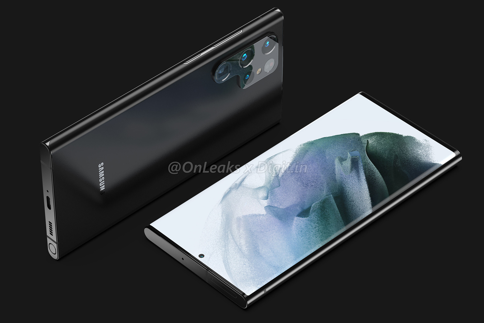 Galaxy S22 Ultra leak