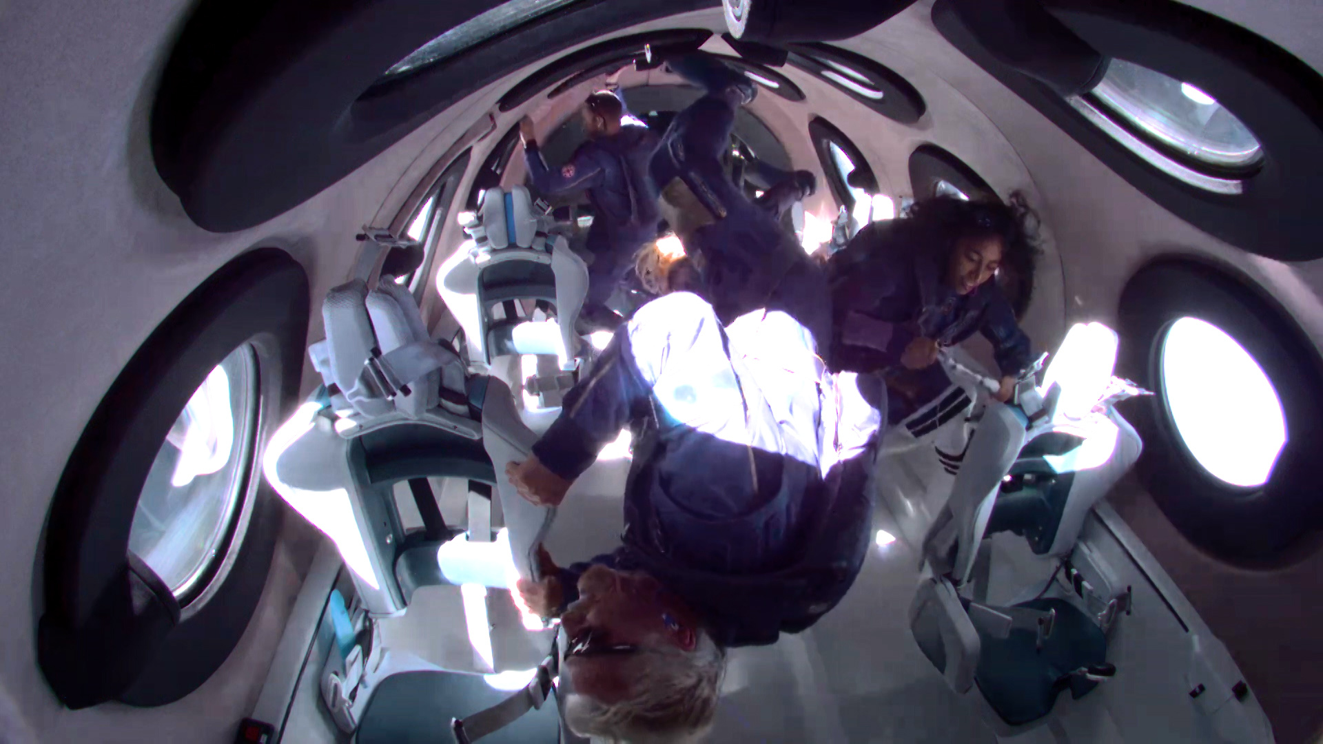 NEW MEXICO, USA - JULY 11: Sir Richard Branson flew into space aboard a Virgin Galactic vessel, a voyage he described as the