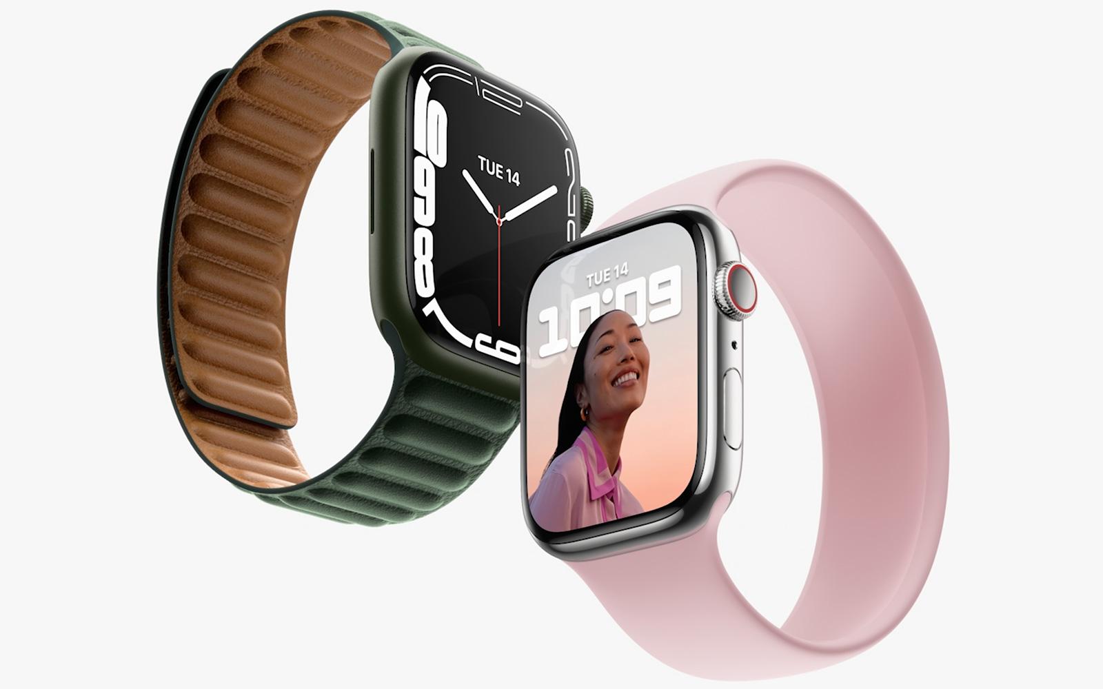 Apple Watch Series 7 給你看到更多的內容