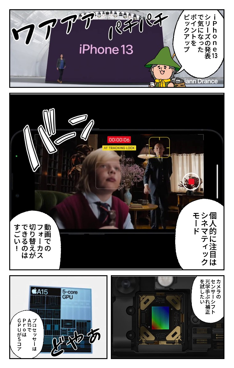 iPhone13Comic