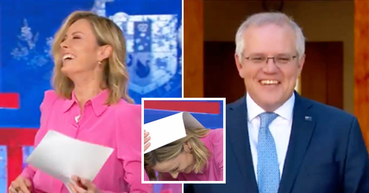 Today host Ally Langdon's awkward blunder with PM: 'Sucked in'