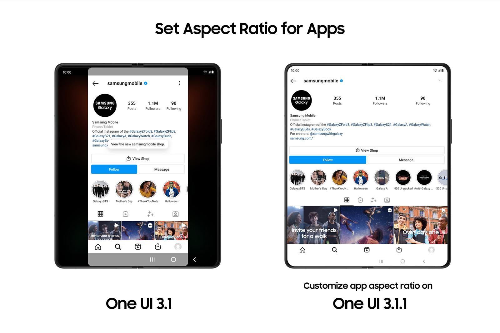 Samsung One UI 3.1.1