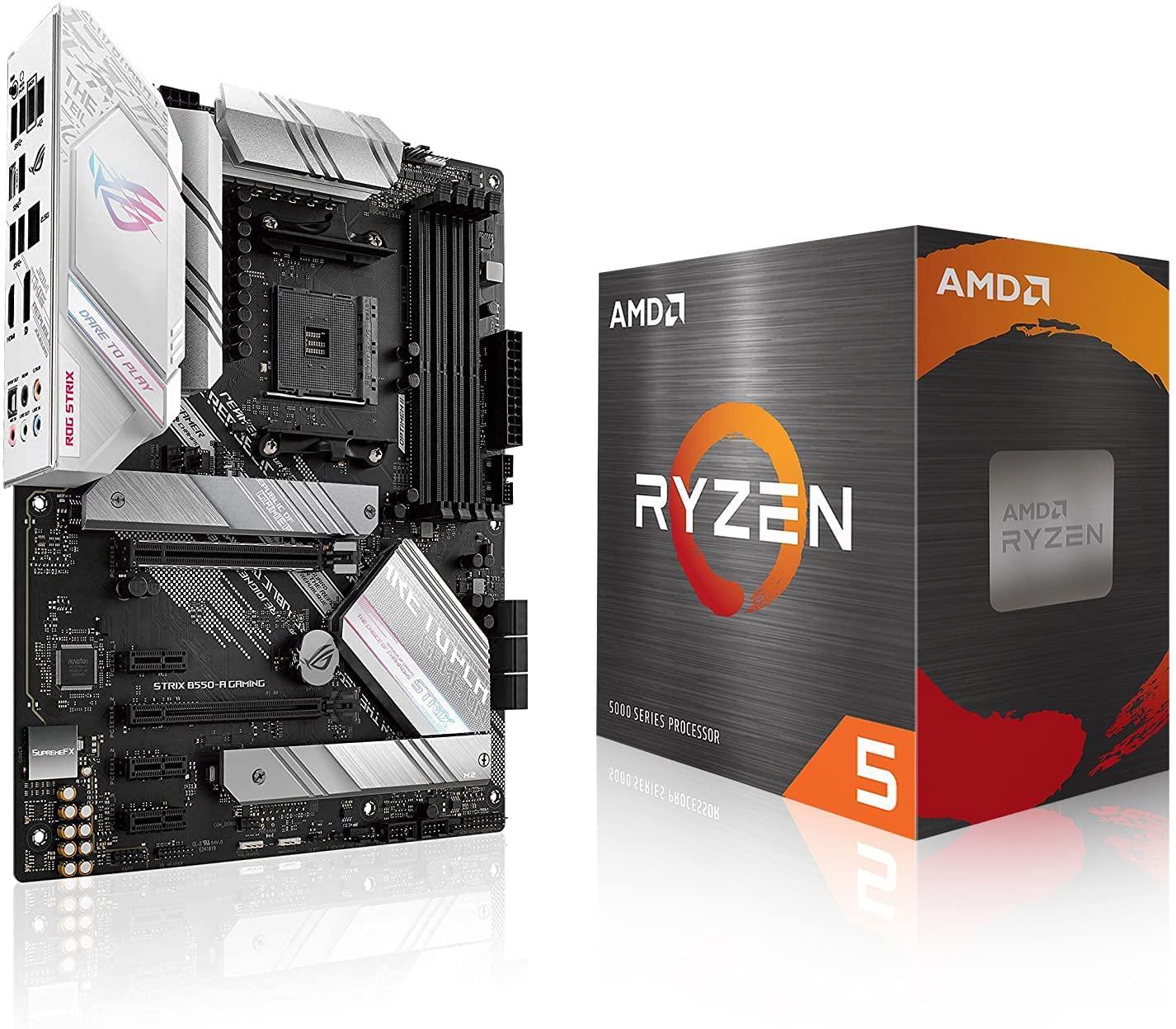AMD Ryzen 5 5600X + ASUS Gaming B550 + Motherboard