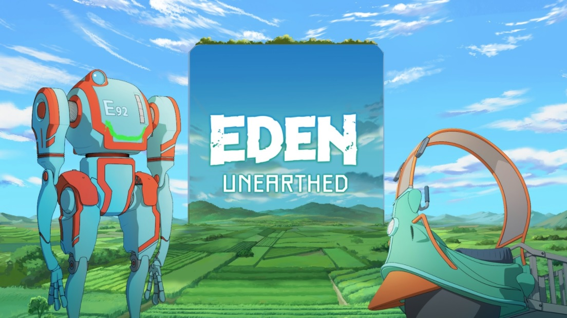 Netflix quietly developed a VR tie-in for its 'Eden' anime series - Engadget