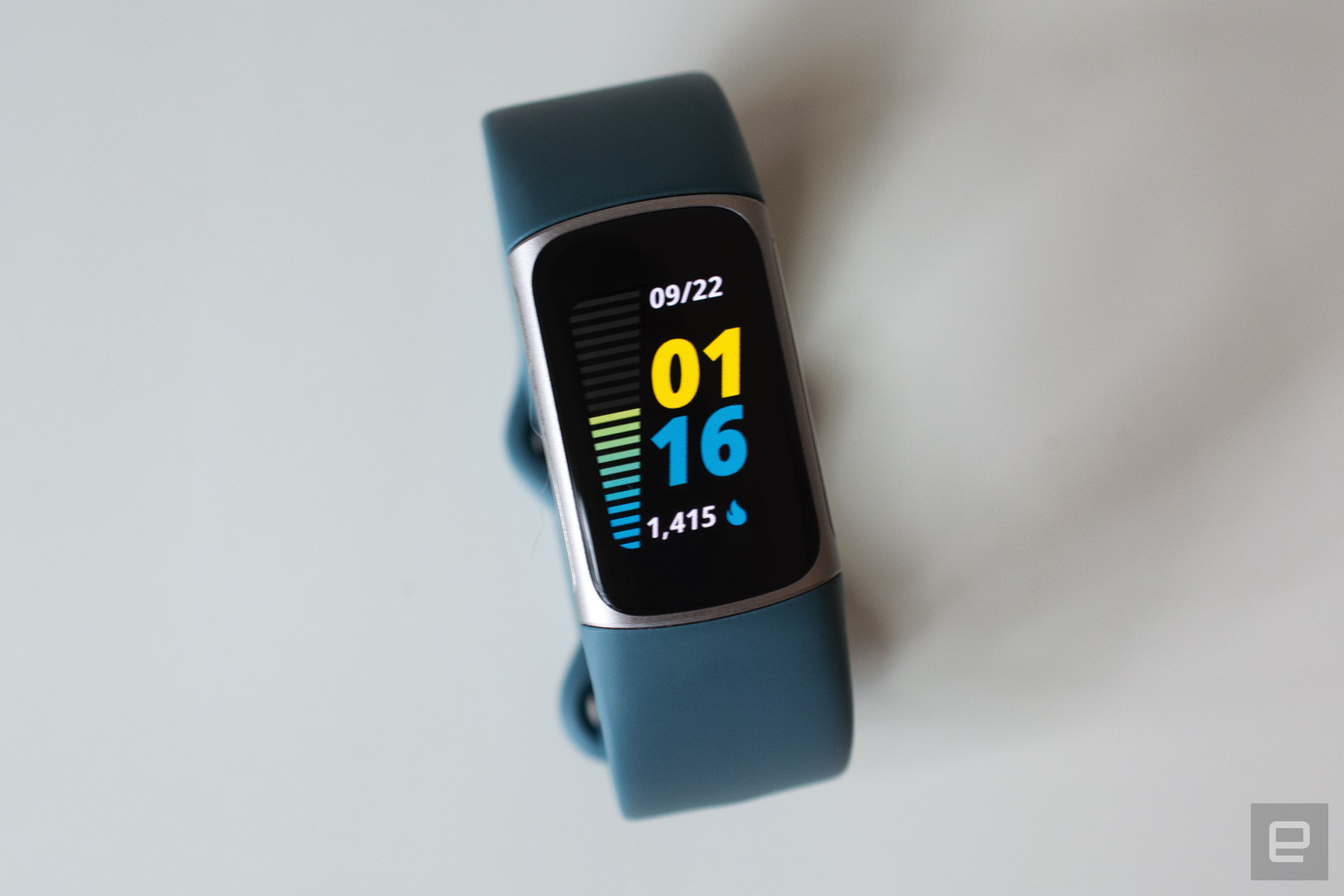 <p>Fitbit Charge 5 fitness tracker</p>