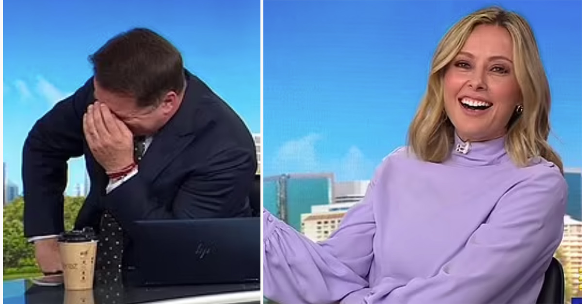 Today's Karl Stefanovic shocks with X-rated joke about Allison Langdon
