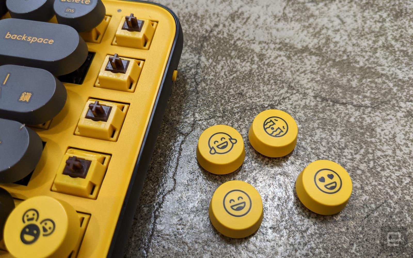 羅技 Pop Keys 機械鍵盤