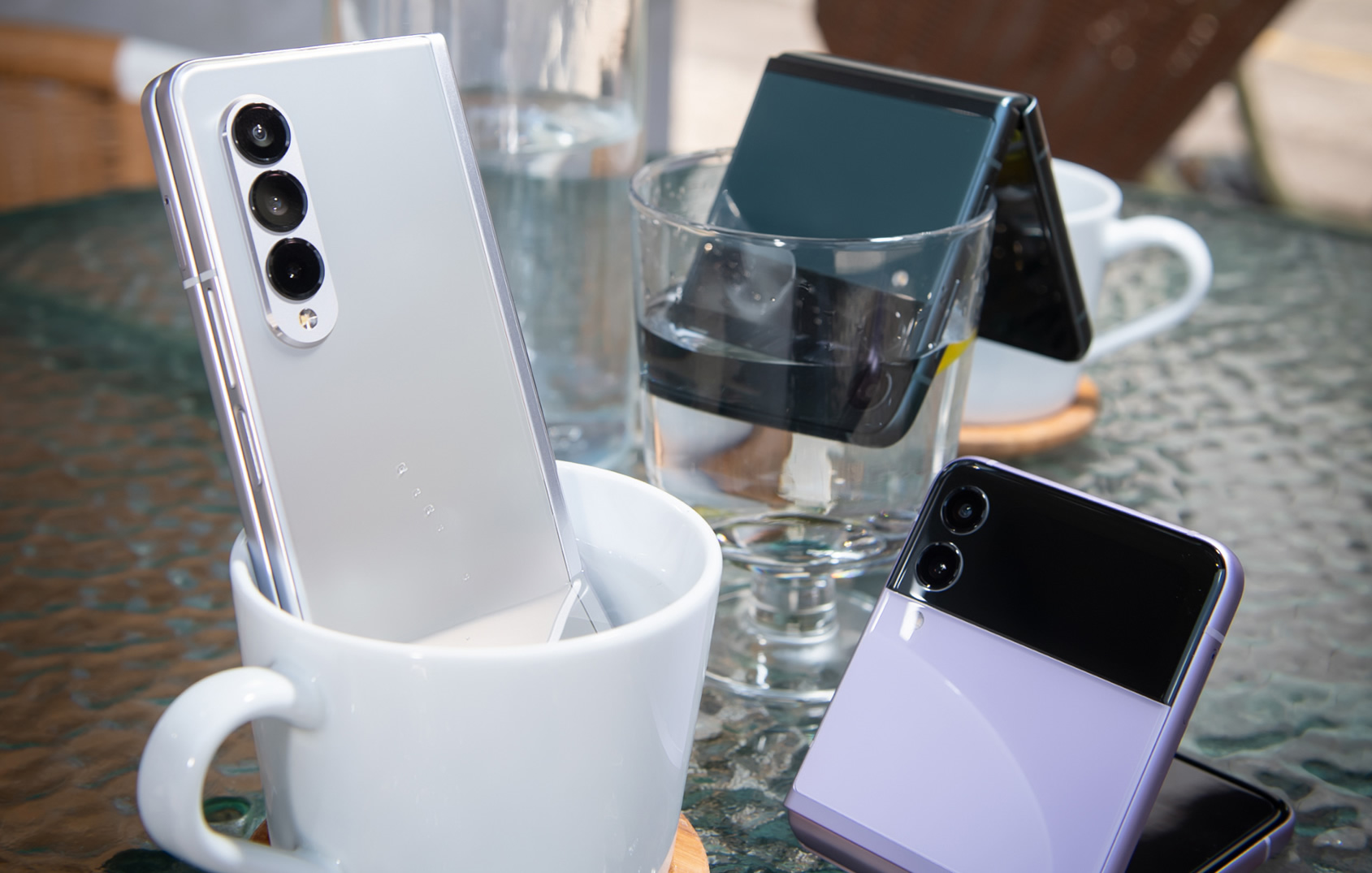 Galaxy Z Fold 3 和 Z Flip 3