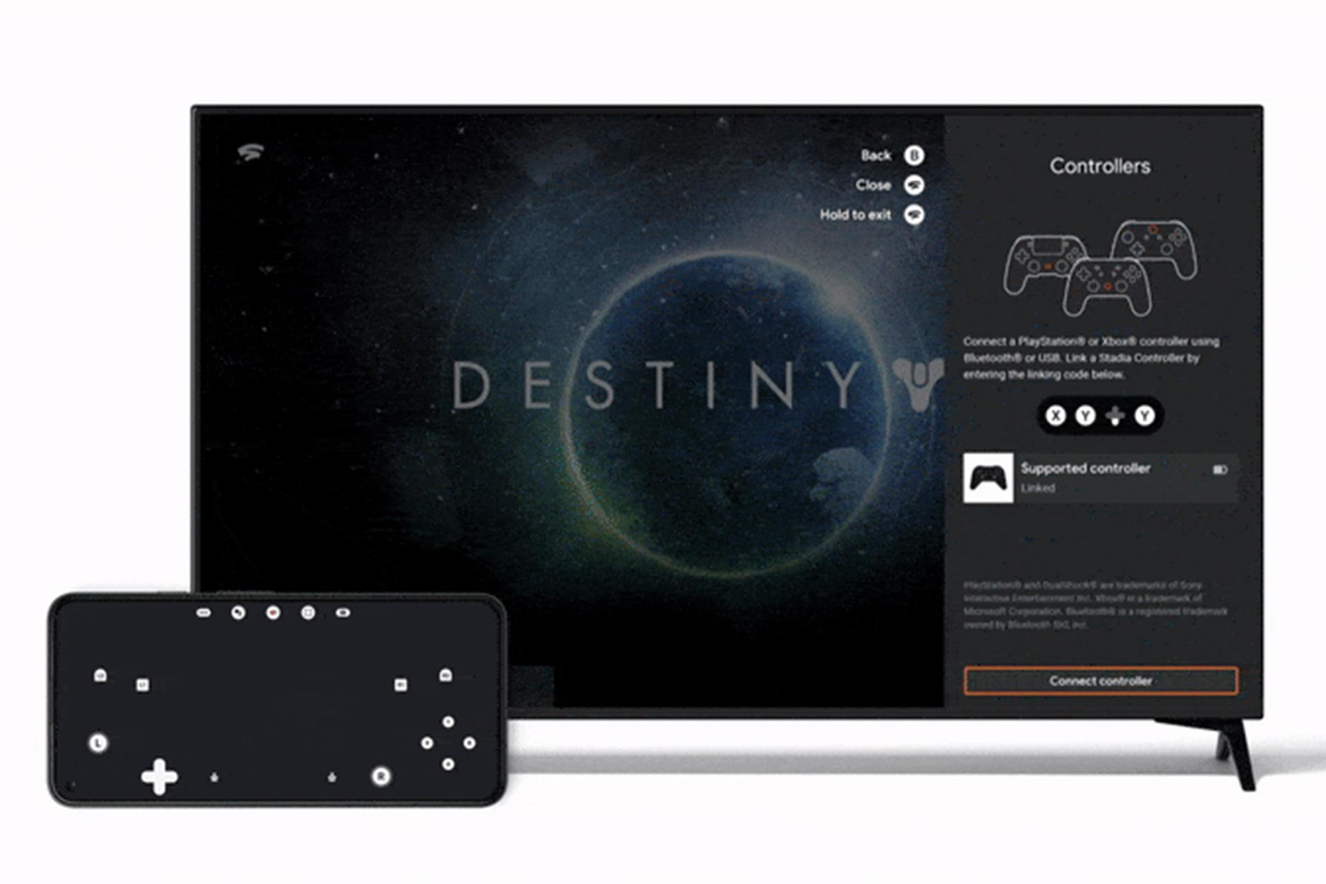 Google Stadia Gamepad