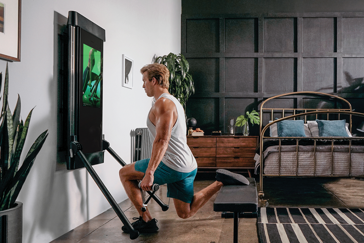Tonal brings live studio workouts to its smart home gym