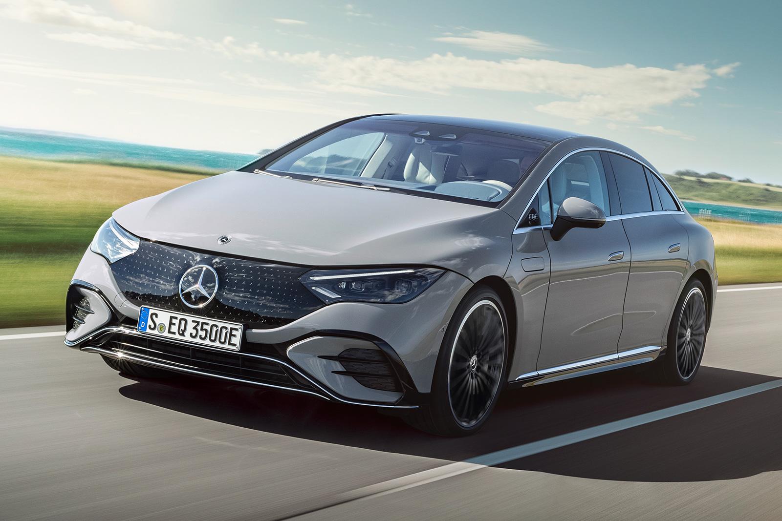 Mercedes-Benz EQE electric sedan