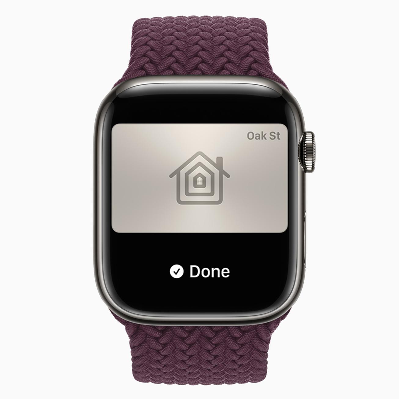 <p>Apple's new Watch Series 7</p>