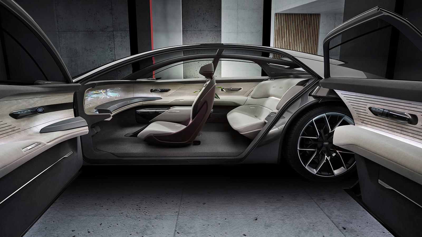 Audi Grandsphere concept EV interior