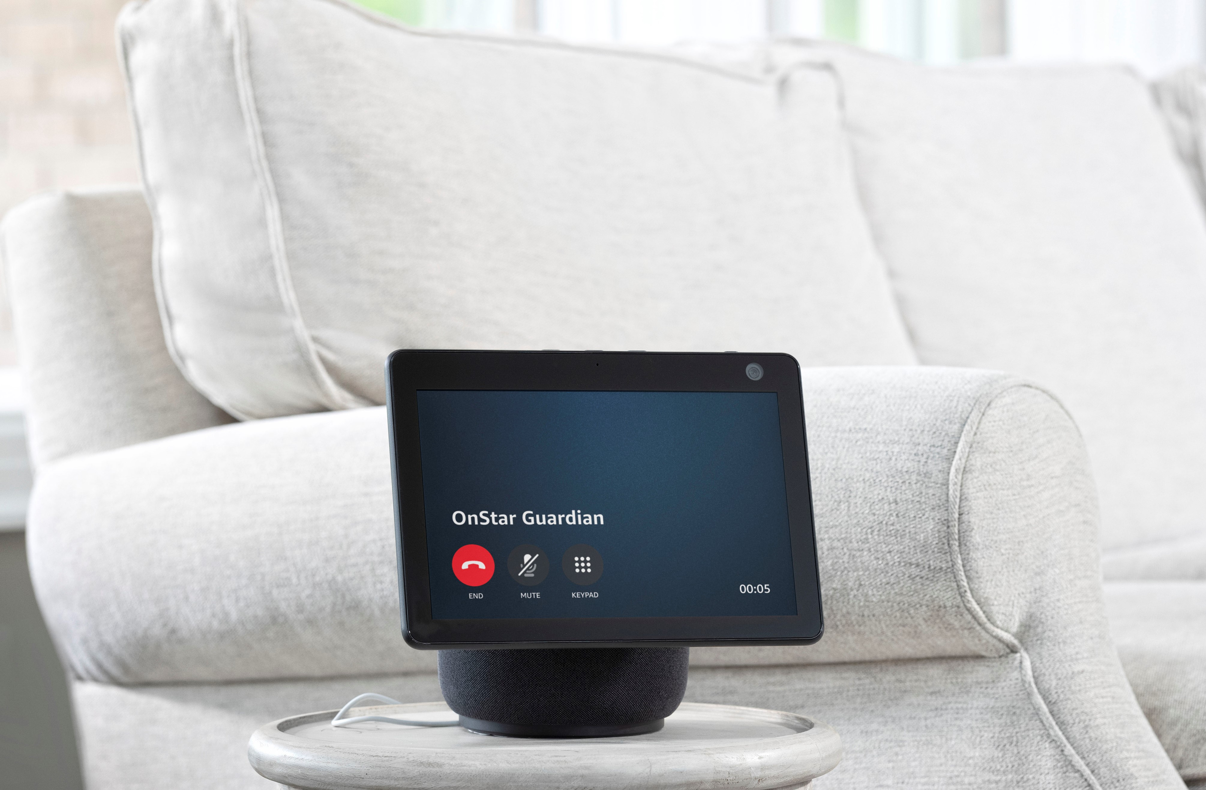 OnStar emergency services will be available through Alexa starting in October