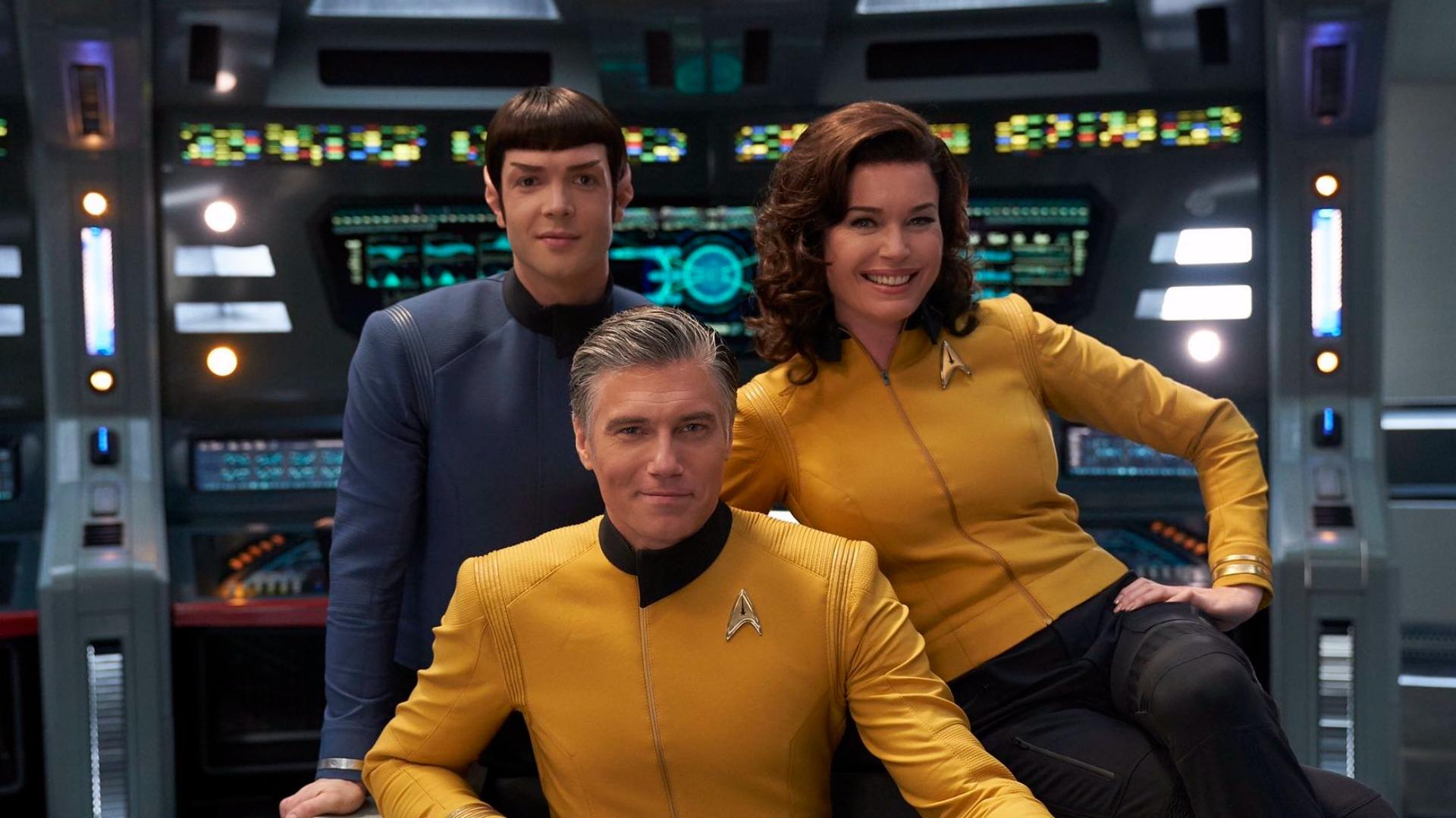 'Garip Yeni Dünyalar' Star Trek Günü'nde oyuncu kadrosunun daha fazlasını sergiliyor | Engadget