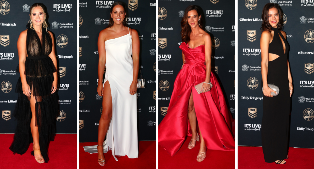 Dally M Medal 2021: All the dresses from the red carpet
