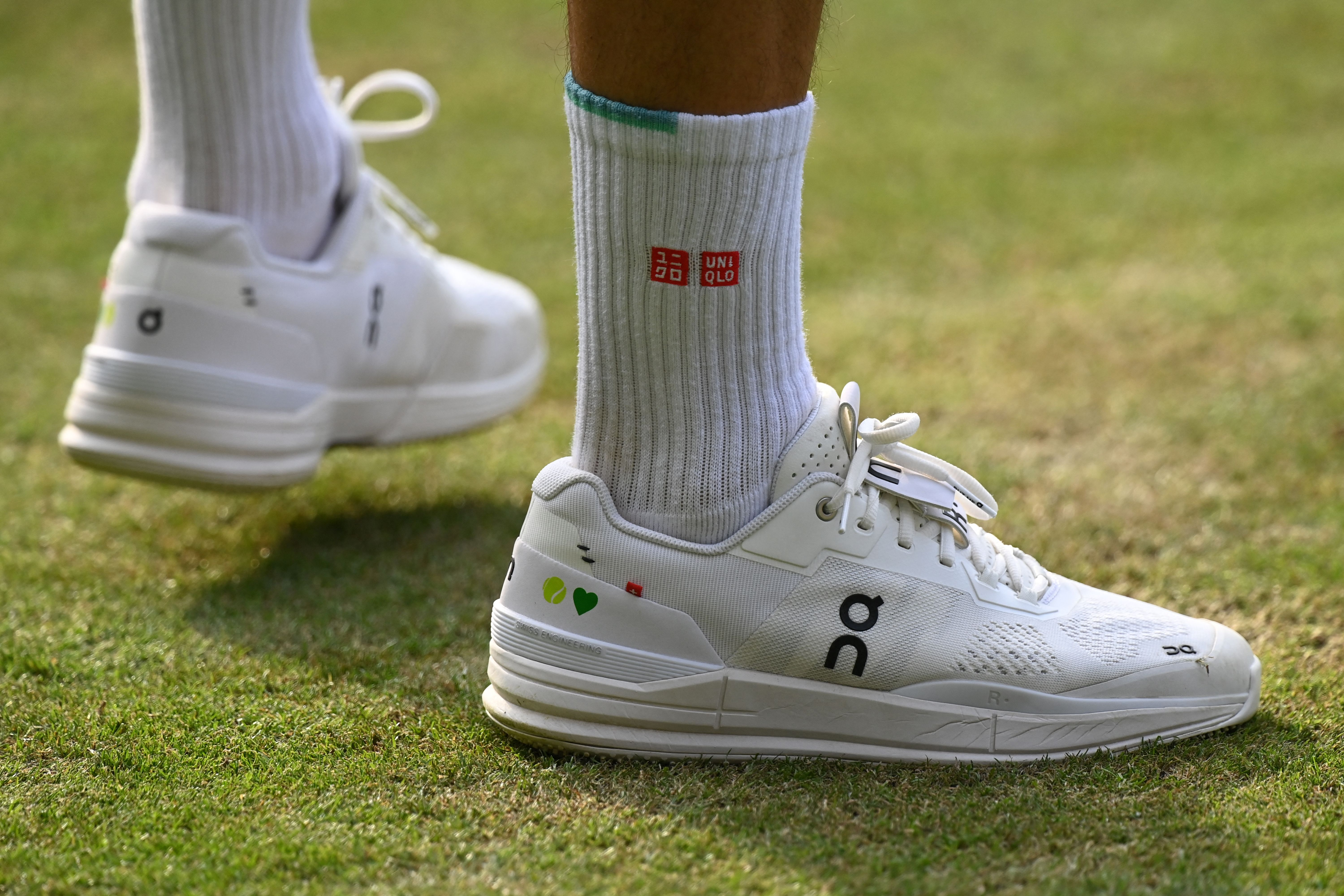 Roger Federer invested early in this shoe company — its stock has skyrocketed out of the gate