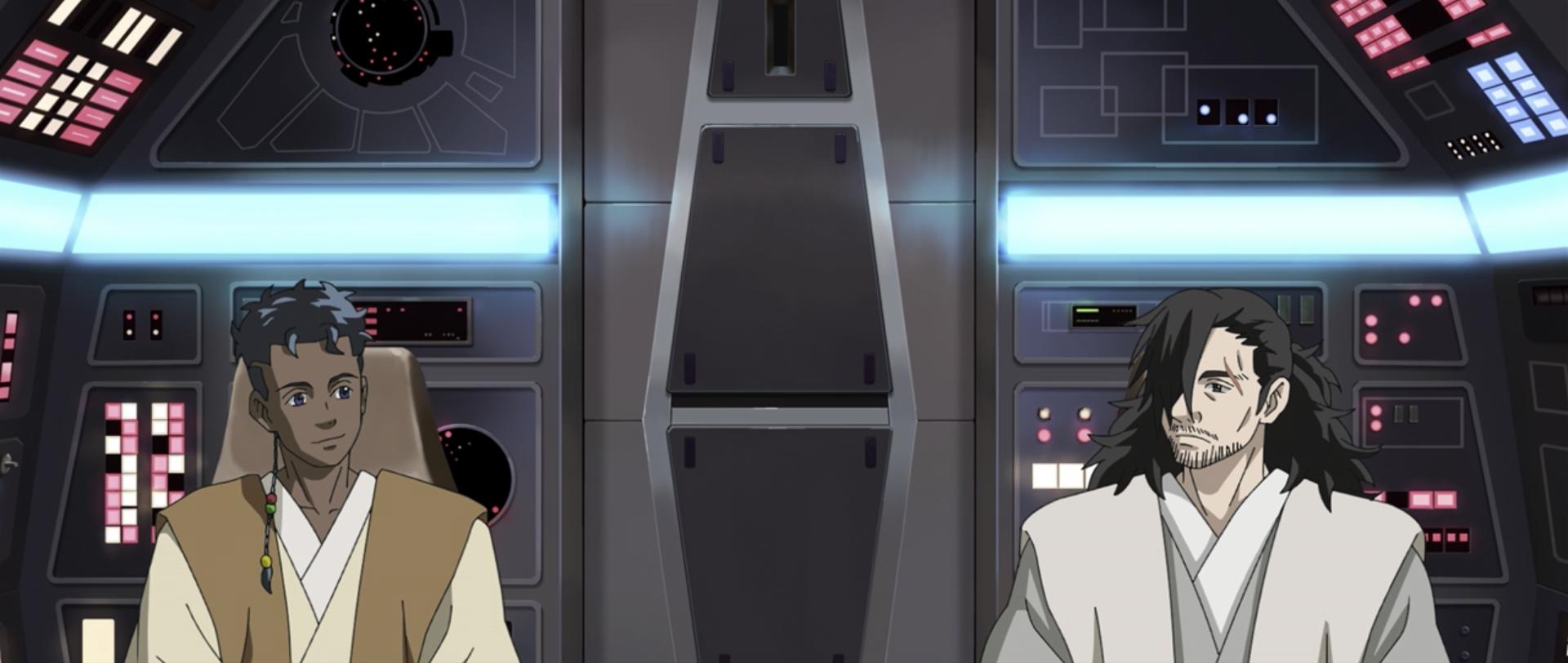 Padawan and Jedi Master