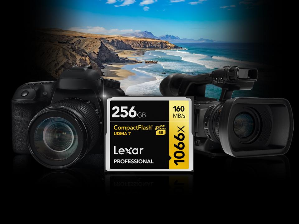 Lexar Professional 1066x CompactFlash 記憶卡