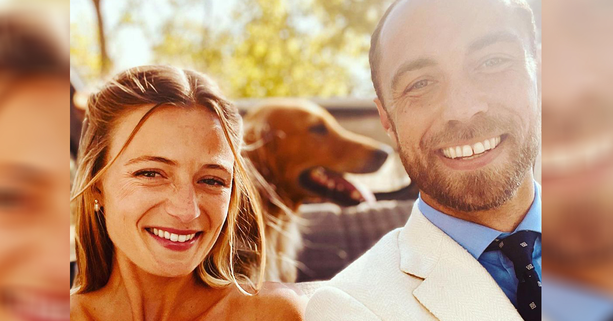 Detail in James Middleton's wedding photos everyone is talking about