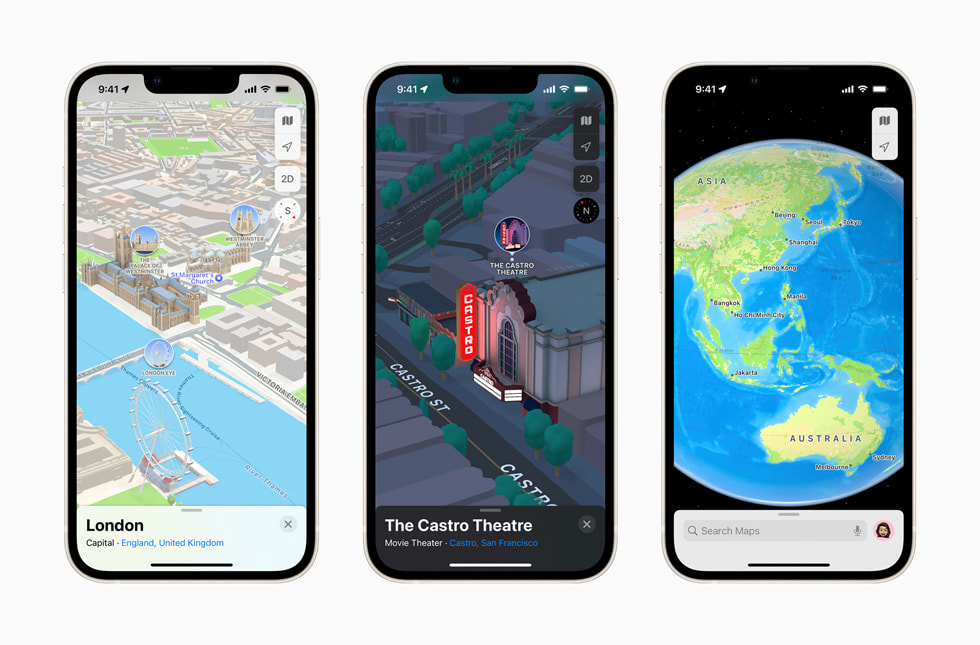 Apple details 3D maps rollout plan for iOS 15   Engadget