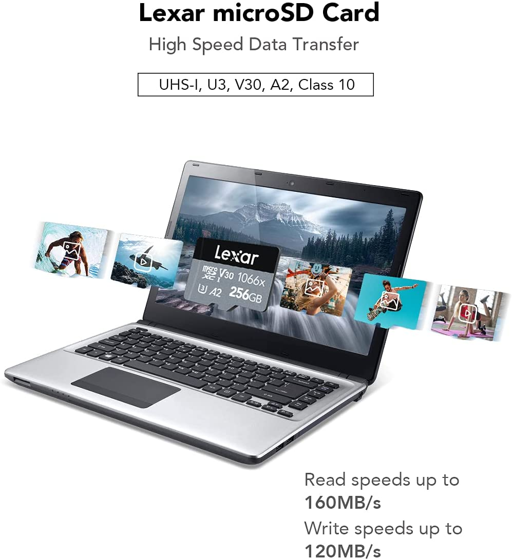 Lexar Professional 1066x 256GB microSD