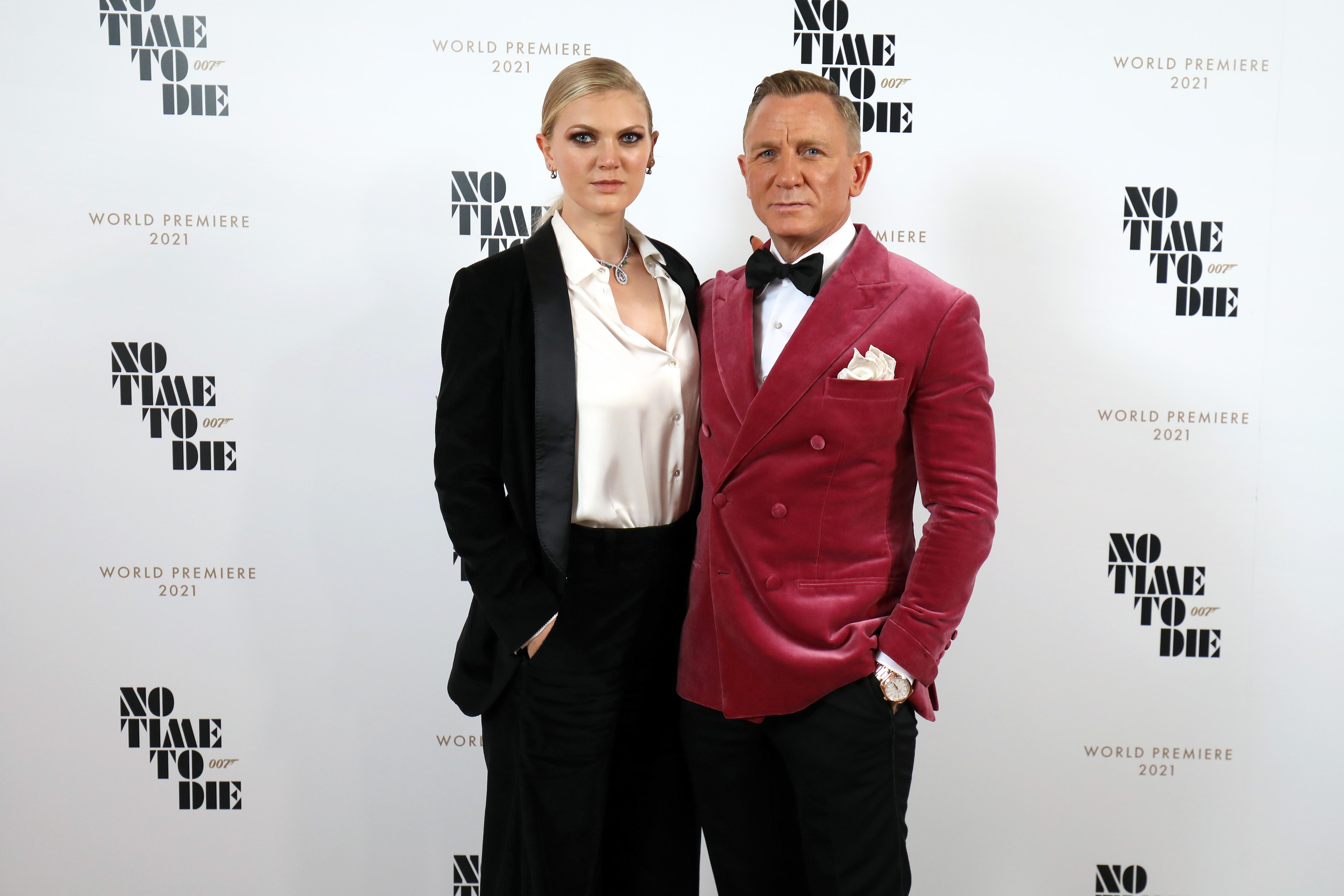 La rara aparición pública de Ella Loudon, la hija de Daniel Craig a quien el actor no le dejará su fortuna