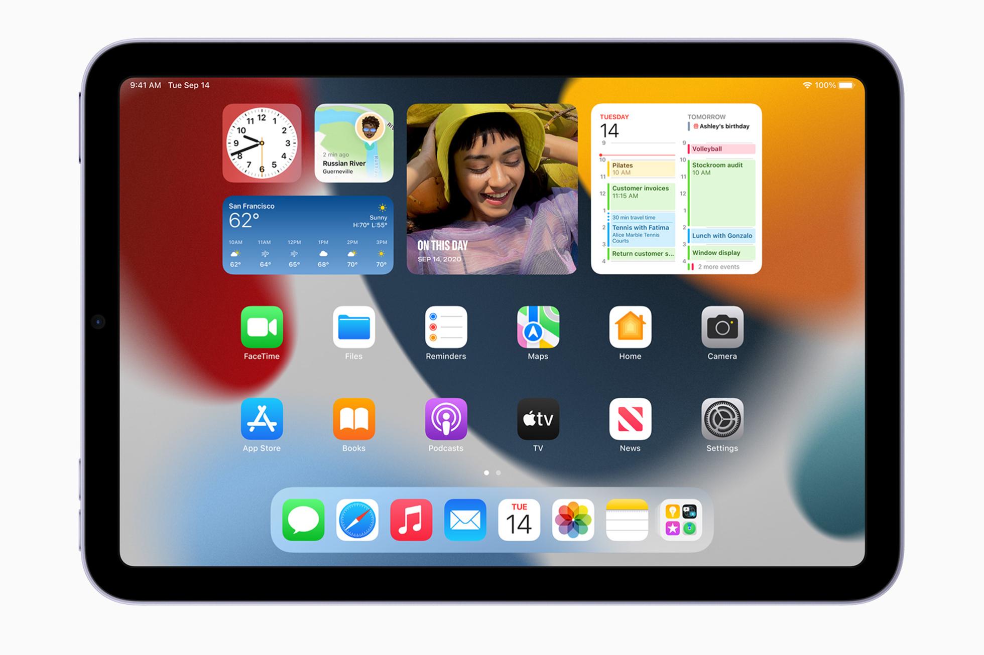 <p>Apple's new iPad mini</p>