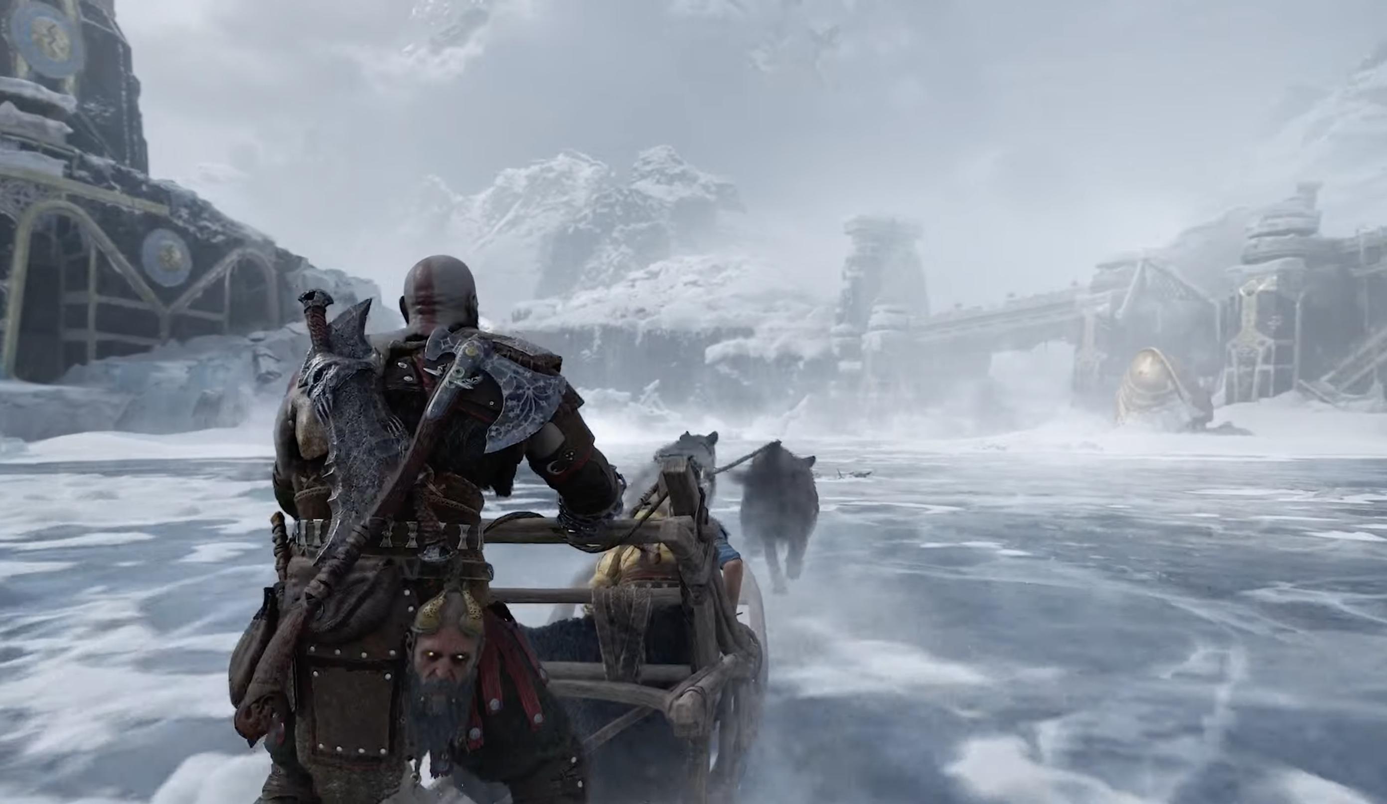 God of War Ragnarök'e ilk bakış Asgard ile bir savaşı gösteriyor | Engadget