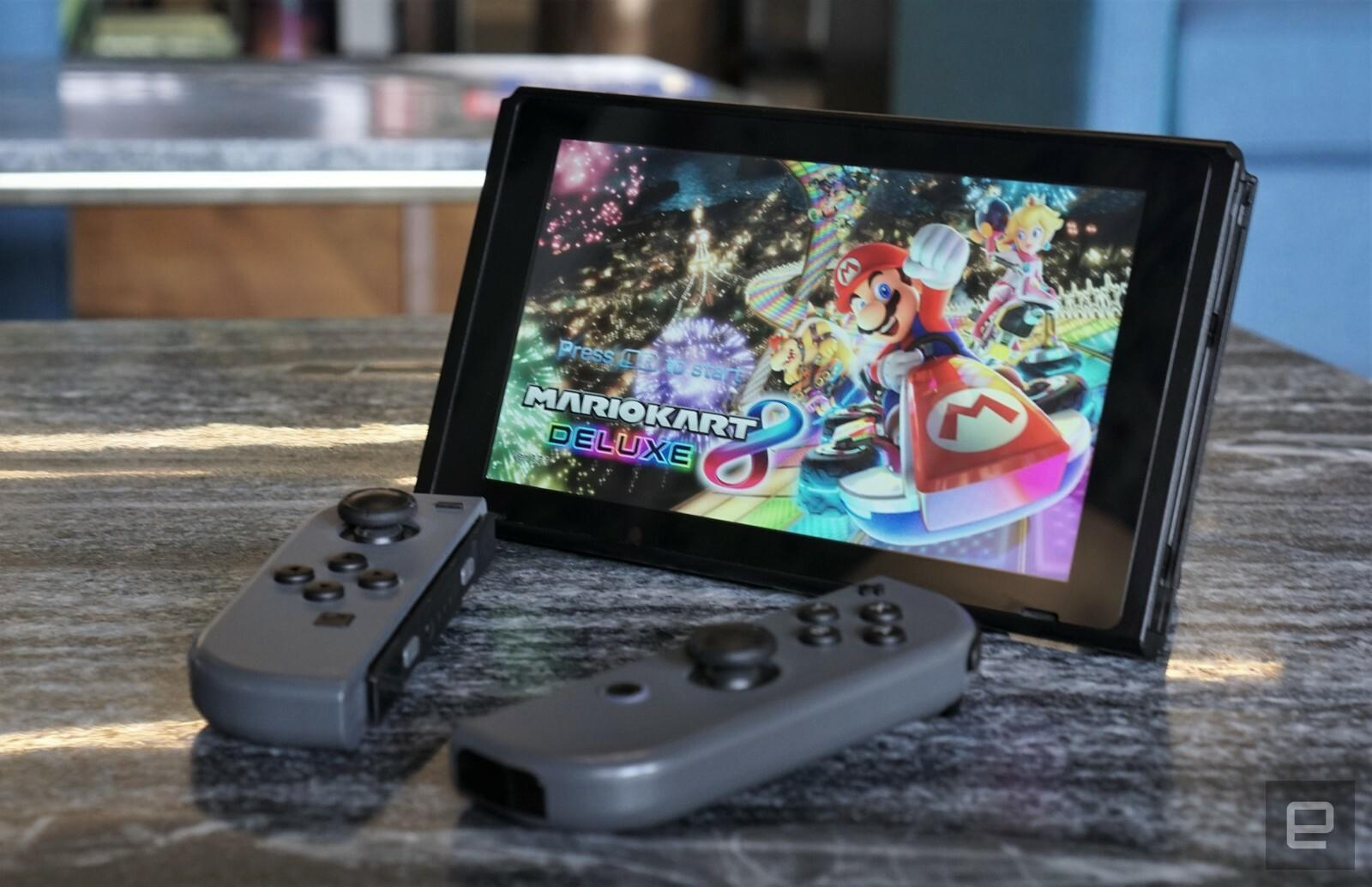 Nintendo Switch gets Bluetooth audio at last