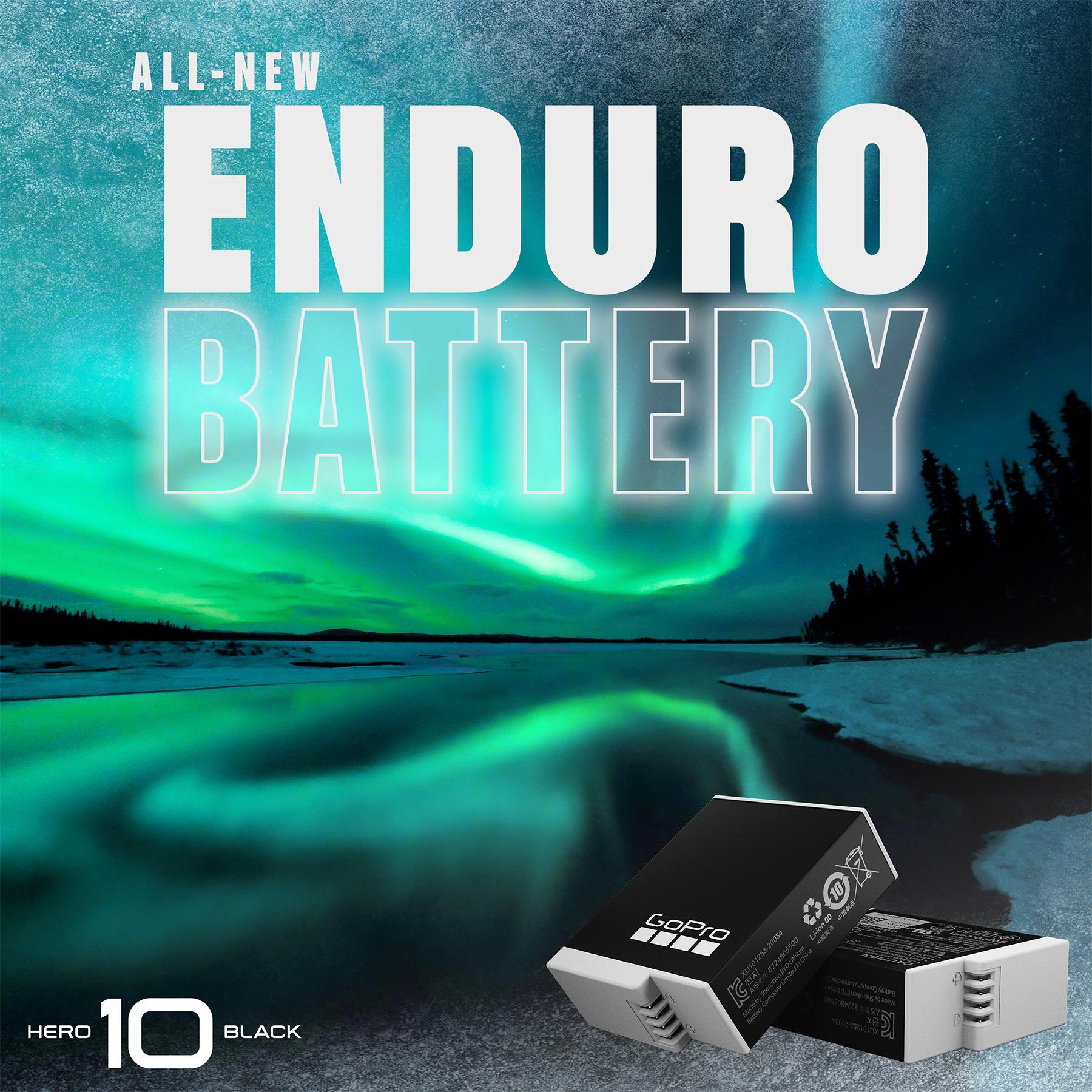GoPro Hero 10 Enduro battery.