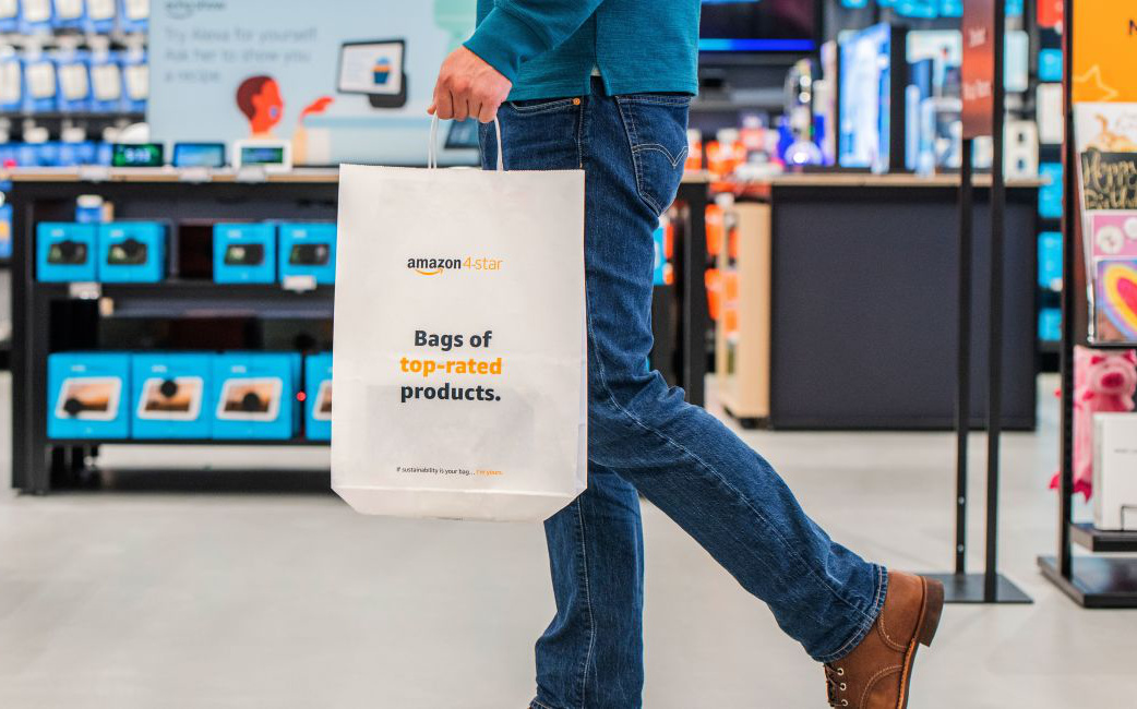 Amazon opens its first 4-star store outside the US