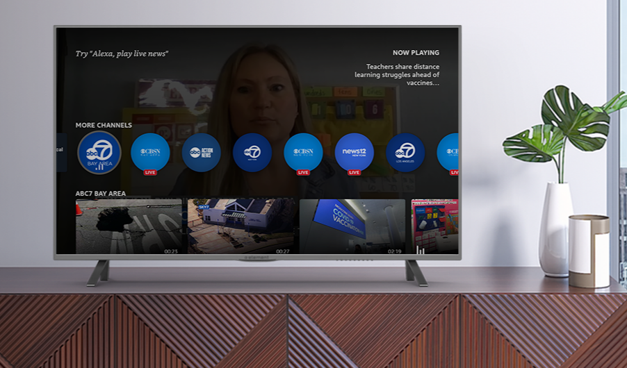 Amazon adds 60 more stations to its Fire TV local news app