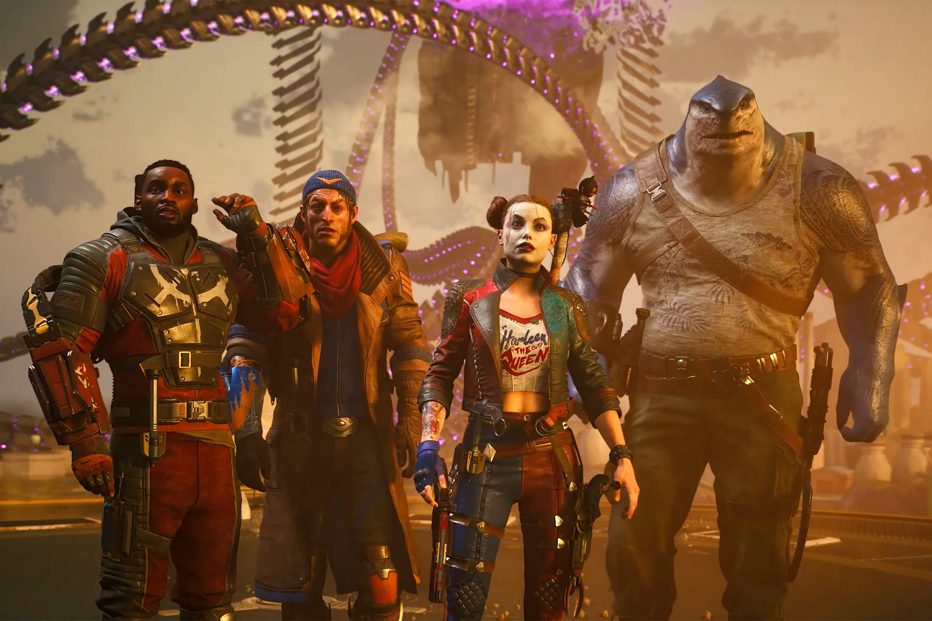 'Suicide Squad' game trailer shows why you'll take down the Justice League | Engadget
