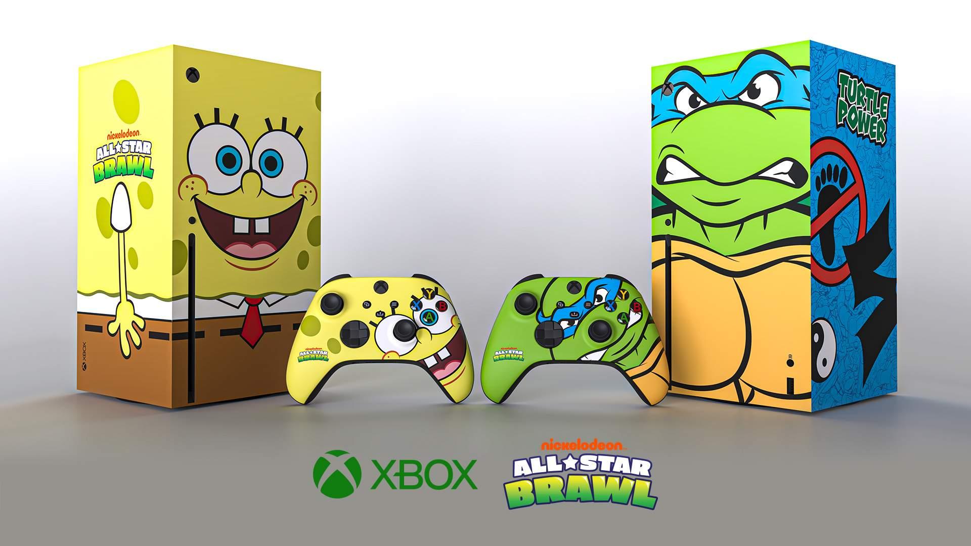 Spongebob Squarepants is now an Xbox Series X