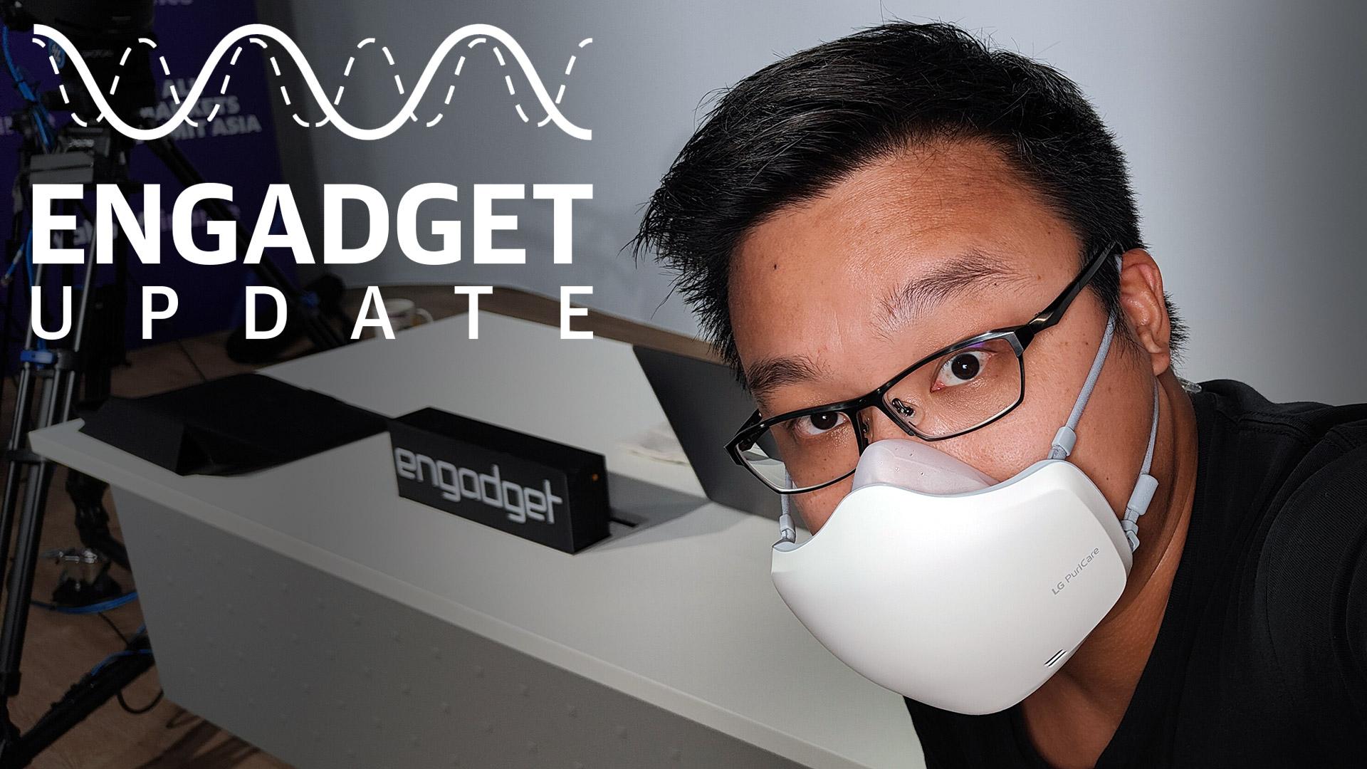 Engadget Update EP118:LG 升級版 PuriCare 穿戴式空氣清新機開箱