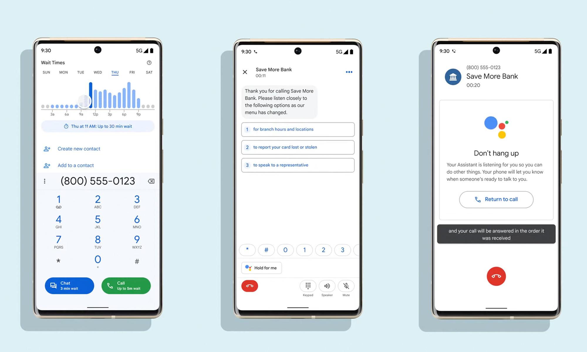 Google turns those annoying call center menus into easy-to-navigate screens