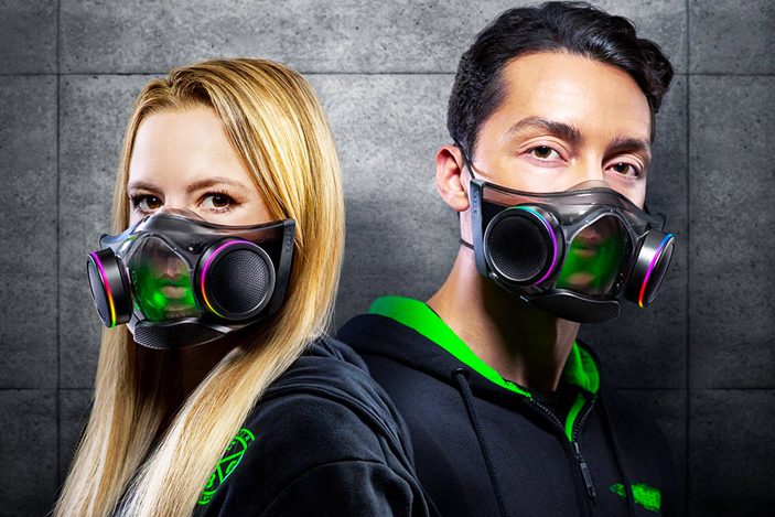 Razer's smart RGB face mask is now available for $100